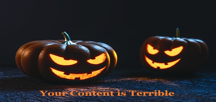Content is terrible