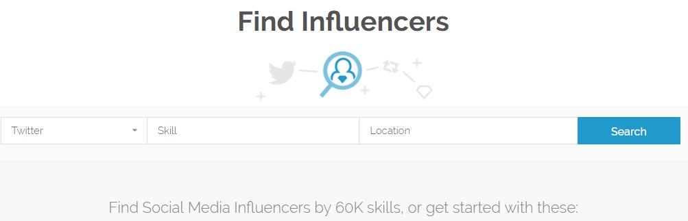 find influencer klear