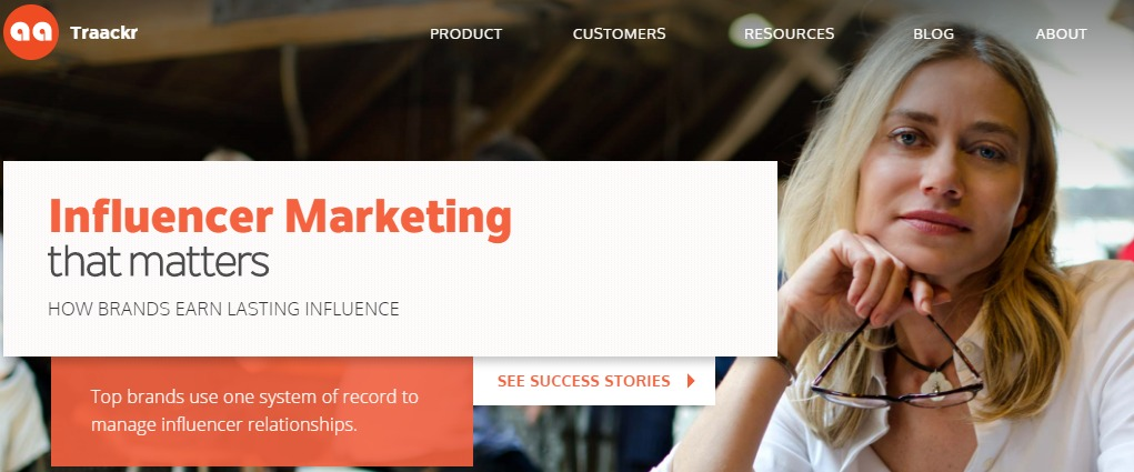 Influencer Marketing that matters Traackr