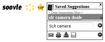 saved suggestion from soovle